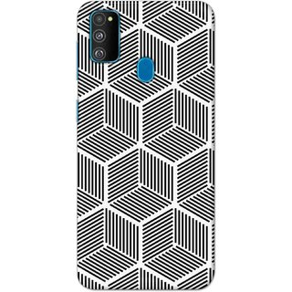 Digimate Hard Matte Printed Designer Cover Case For SamsungGalaxyM30s
