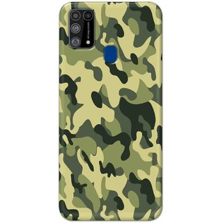 Digimate Hard Matte Printed Designer Cover Case For SamsungGalaxyM31