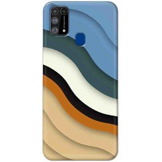 Digimate Hard Matte Printed Designer Cover Case For SamsungGalaxyM31