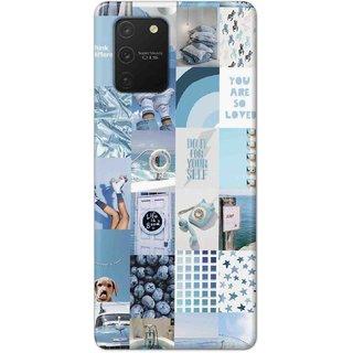 Digimate Hard Matte Printed Designer Cover Case For SamsungGalaxyS10Lite