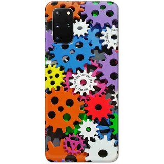 Digimate Hard Matte Printed Designer Cover Case For SamsungGalaxyS20Plus