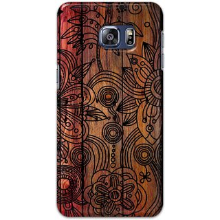 Digimate Hard Matte Printed Designer Cover Case For SamsungGalaxyS6EdgePlus