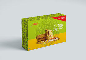 Jaggis Special Butter Dry Fruit Cookies - 2 Box of 400 gm each (Total 800gm)