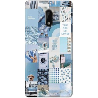 Digimate Hard Matte Printed Designer Cover Case For Nokia6