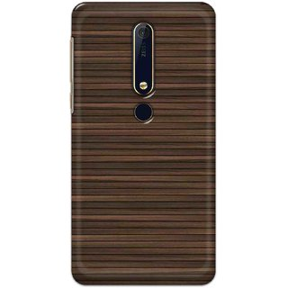 Digimate Hard Matte Printed Designer Cover Case For Nokia62018