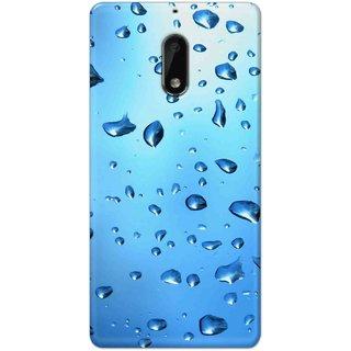 Digimate Hard Matte Printed Designer Cover Case For Nokia6
