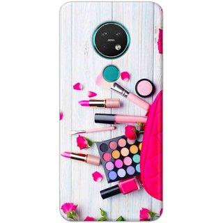 Digimate Hard Matte Printed Designer Cover Case For Nokia7.2