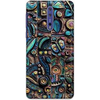 Digimate Hard Matte Printed Designer Cover Case For Nokia8
