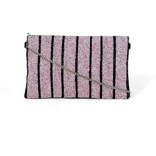 Diwaah Pink Fabric Sling Bag