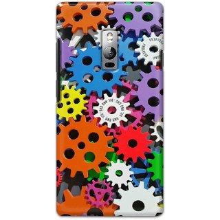 Digimate Hard Matte Printed Designer Cover Case For OnePlus2