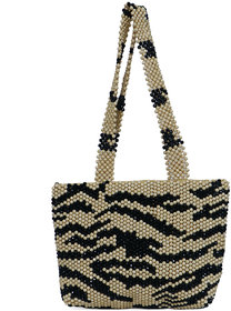 Diwaah Multicolor Fabric Handbag