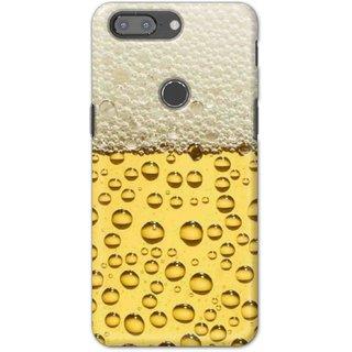 Digimate Hard Matte Printed Designer Cover Case For OnePlus5t