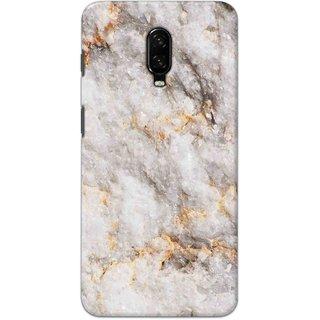 Digimate Hard Matte Printed Designer Cover Case For OnePlus6t