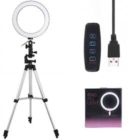 Selfie Ring Light 36 LED  with 3110 Tripod Stand and Phone Holder for Video, Photography, Shooting with 3 Light Modes