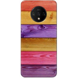 Digimate Hard Matte Printed Designer Cover Case For OnePlus7t
