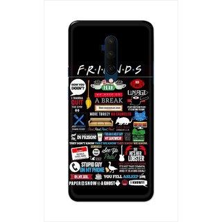Digimate Hard Matte Printed Designer Cover Case For OnePlus7TPro
