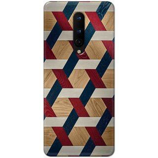 Digimate Hard Matte Printed Designer Cover Case For OnePlus8