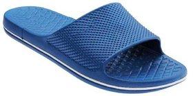 Onbeat Blue Slide Flip flop For Men