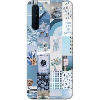 Digimate Hard Matte Printed Designer Cover Case For OnePlusNord