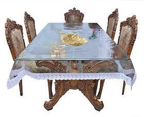 6 Seater Dining Table Cover Pvctransparent