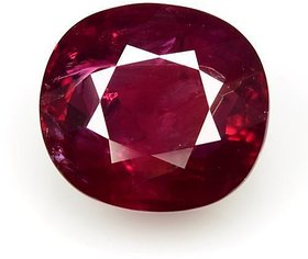 Jyotishi Gem 6.25 Carat Gemstone Certified Natural New Burma Ruby  Manik Stone