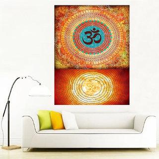 Surmul Om Lord Goddess God Photo Sticker Poster Wall Dcor( Om 31)