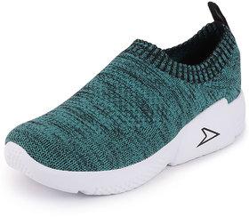 Bata Women's Green Sports Slip On Walking Shoes