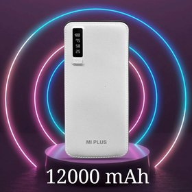 MI 12000 mAh Power Bank With 3 Ports