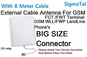 GSM Fixed Wireless Phone External Antenna For Beetel F1,F2N ichiban Gsm fwp 2G GSM Voice Antenna Sigmatel Brand
