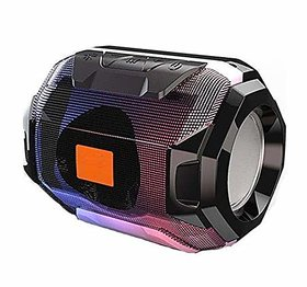 Megabass Wireless Bluetooth Speaker V4.2 with SD/USB/AUX  FM Support Compatible for All Devices (Random Colour)
