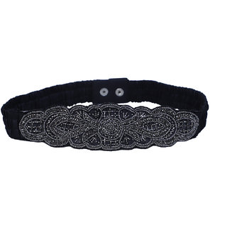 Womens Black Party Belts