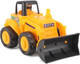 MANN Friction Power Tractor - Yellow