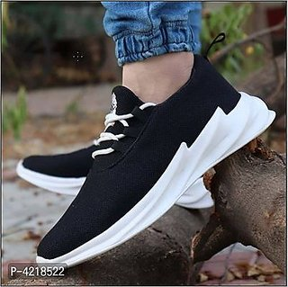 Comfortable  Stylish Black Shoes For Boys