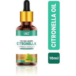 Ligez 100% Organic Citronella Essential Oil (10 ml)