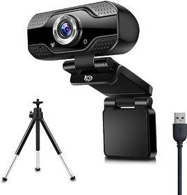 BigPassport Full HD 1080p Webcam, Widescreen Viewing Angle, Noise-Reducing Mic for Skype, Hangouts, PC/Mac/Laptop/MacBoo