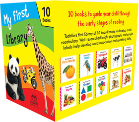 My First Library 10 Best-Selling Board Books in a Box-Set for Children