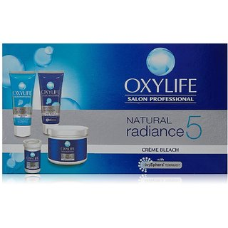 Oxylife Natural Radiance 5 Creme Bleach- With Active Oxygen-126 g