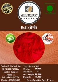KUMKUM (ROLI) 50GM. FOR POOJA AND TILAK