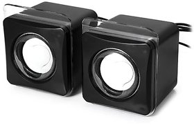 Mini Speaker Excellent Acoustic Mini USB2.0 Speaker (Black)