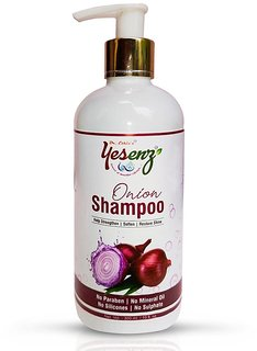 Dr.Ethix Yesenz Red Onion Black Seed Oil Shampoo with Red Onion Seed Oil Extract Men  Women (300 ml)