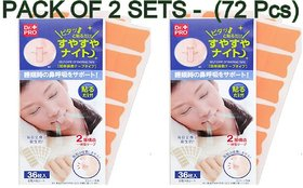 (Pack of 72 pcs)  Anti Snoring Snore Stopper Sleep Apnea Solution Lips Plasters /Treatment for Snoring ( 36 pcs  2)