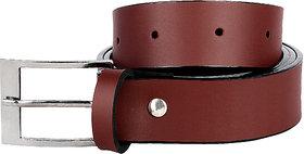 Jack Klein Stylish Brown PU Belt For Men