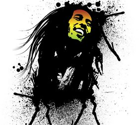 Bob Marley Poster for room and office