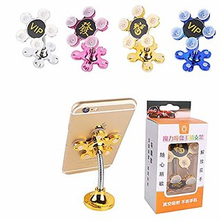 Lazywindow Multi-Angle 360 Rotatable Magic Suction Cup Mobile Holder- Set Of 2