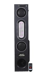 Barry John DJ Tower Speaker with AUX, USB, Bluetooth, FM  MMC 50W Home Audio Speaker