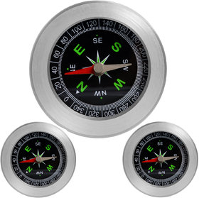 3 Pieces Big Size Military Magnetic Compass Fengshui Camping Hiking - 39