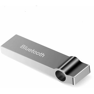 Metal USB Wireless Music Audio Bluetooth Receiver,Dongle 4.0 USB Adapter Hands-Free Dongle Kit for Speaker Music System,