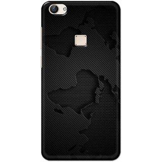 Digimate Hard Matte Printed Designer Cover Case For Vivo X6