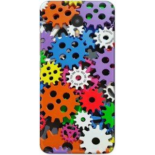 Digimate Hard Matte Printed Designer Cover Case Fo YU Yunicorn (5530) - 3029