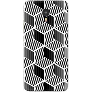 Digimate Hard Matte Printed Designer Cover Case Fo YU Yunicorn (5530) - 3066